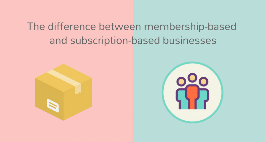 difference between membership and subscription