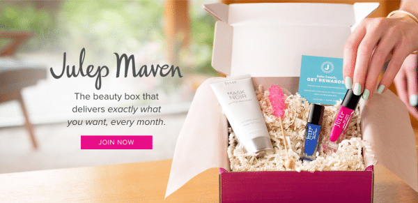 Julep Maven Subscription Box Design