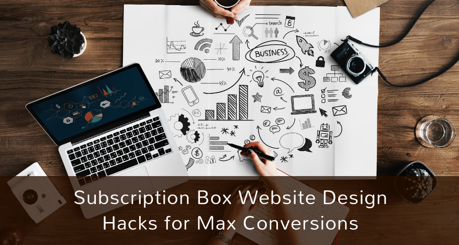 Subscription box website design